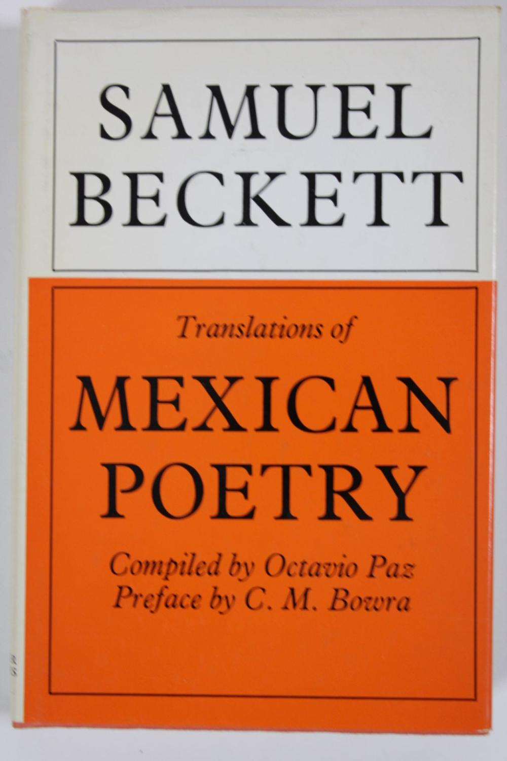 Anthology of Mexican Poetry. Translated by Samuel: Paz, Octaviao (Ed.)