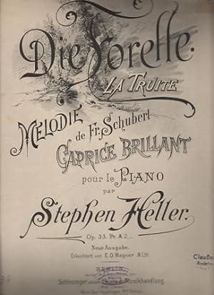Caprice brillant. Die Forelle / La Truite.: Heller, Stephen