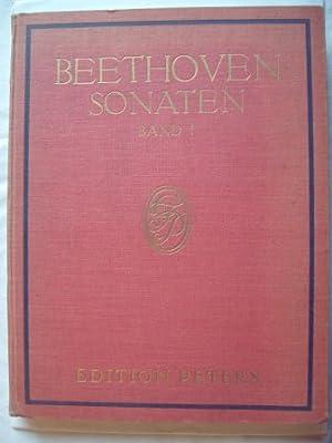 Sonaten für Klavier zu zwei Händen. Neu: Beethoven, Ludwig van