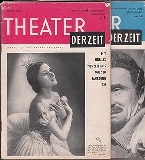 Theater der Zeit. Jahrgang 1952. Heft 1 - 14.: Erpenbeck, Fritz (Hg.)