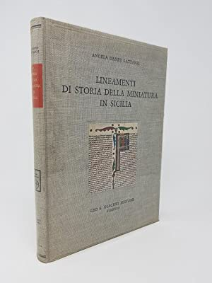 Lineamenti di Storia Della Miniatura in Sicilia: Lattanzi, Angela Daneu
