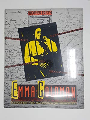 Poster for Emma Goldman: In Celebration of the Publication of the Emma Goldman Papers