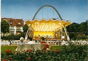 Lübeck. Ostseebad Travemünde.Kurkonzert im Musikpavillon.: Ansichtskarte (PLZ: 23570):