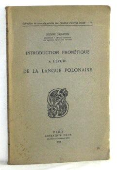 Introduction Phonetique a l'etude de la langue Polonaise