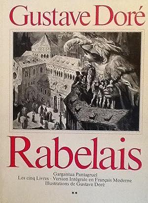 Garguntua Pantagruel Les Cinq livres Version integrale en francais moderne: Rabelais