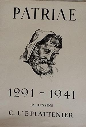 Patriae 1291-1941 12 dessins C. L'Eplattenier: Maurice Jeaneret