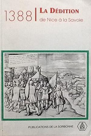 1388 La dedition de Nice a la Savoie