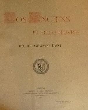 Nos Anciens et leurs Oeuvres D'Art Deuxieme Series Tome VII 1915