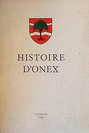 Histoire D'Onex