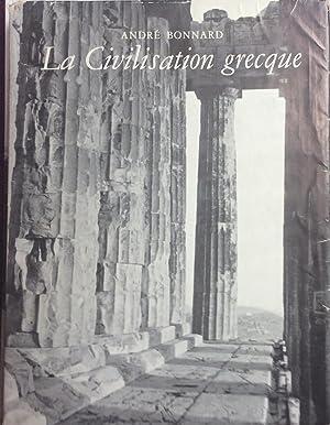 Civilisation Grecque De l'Iliade au Parthenon