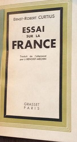 Essai sur la France: Ernst-Robert Curtius