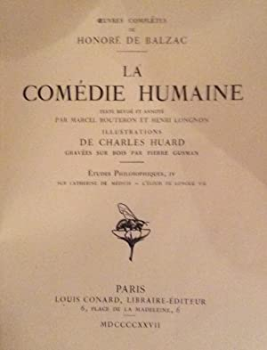 La Comedie Humaine (6 Tomes): Honore de Balzac
