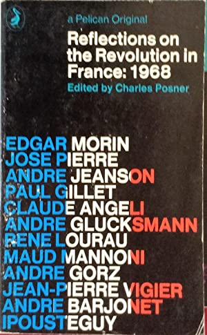 Reflections on the Revolution in France: 1968: Posner (editor)