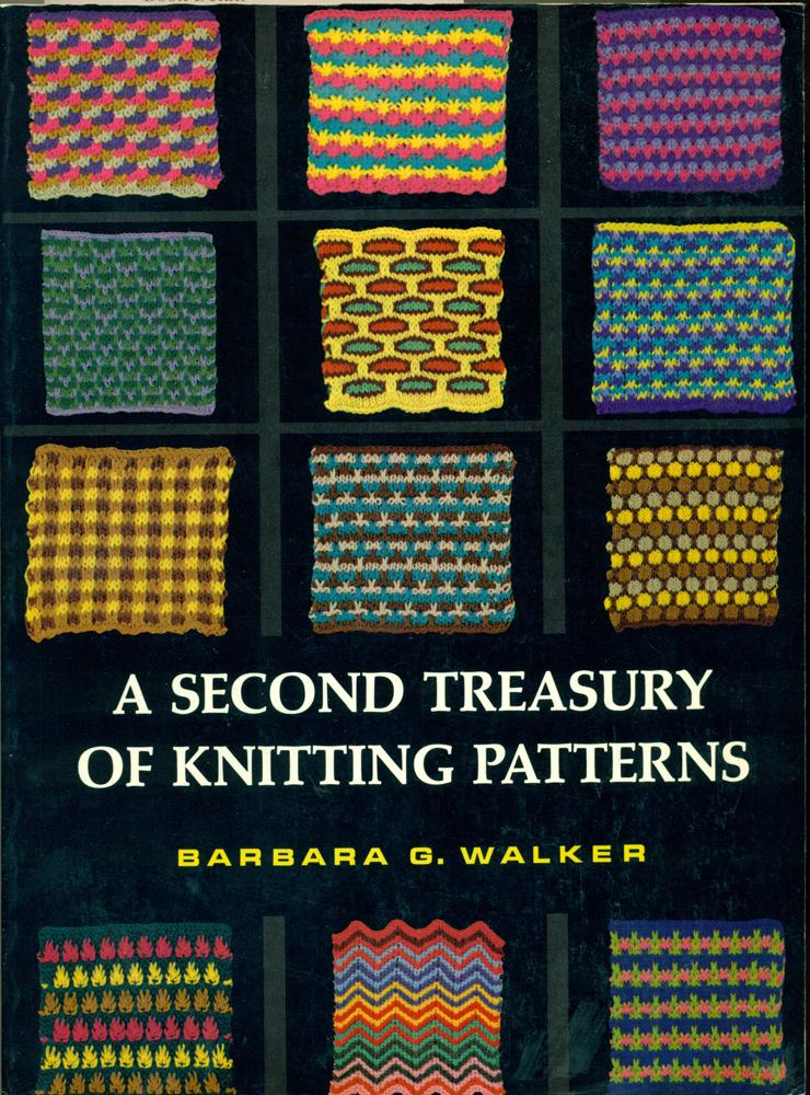 A Second Treasury Of Knitting Patterns By Walker Barbara G