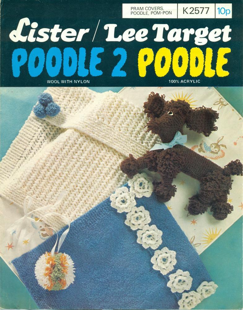 LISTER/LEE TARGET : POODLE 2 POODLE : Pram Covers, Poodle, Pom-pom ...
