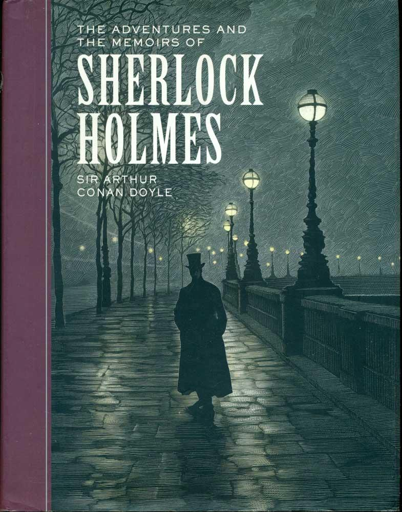 Sherlock Holmes Book Cover Art : The adventures and memoirs of sherlock holmes sterling