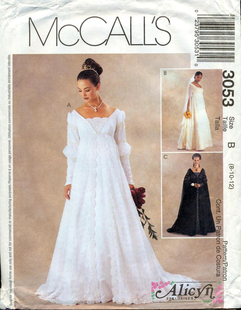 McCALL\'S SEWING PATTERN: #3053: McCALL\'S ALICYN EXCLUSIVES ...