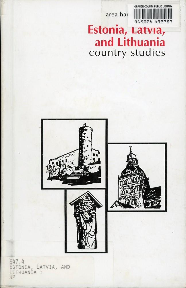 Estonia, Latvia & Lithuania: Country Studies
