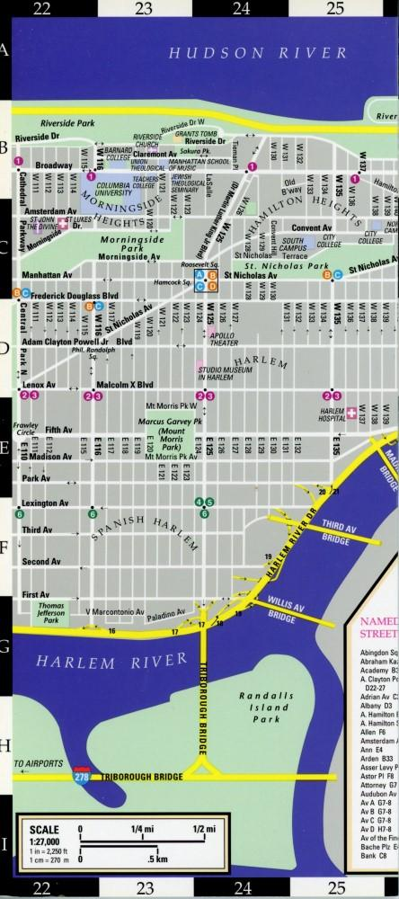 STREEWISE MANHATTAN : MAP - Laminated City ... on throgs neck bridge map, brooklyn map, west village map, long island map, fire island map, queens map, harlem map, ny map, central park map, lincoln center map, roosevelt island map, randall's island map, nassau county map, path map, north brother island map, murray hill map, new york map, madison square garden map, times square map, jersey city map,