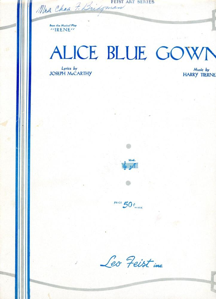 Generous Lyrics To Alice Blue Gown Pictures Inspiration - Images for ...