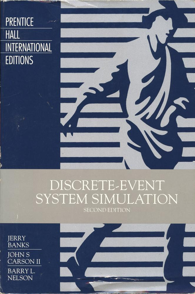 Book system simulation discrete event
