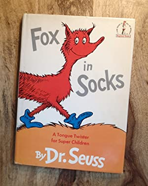 FOX IN SOCKS : A Tongue Twister for Super Children (The Cat in the Hat Beginner Books Series, B-38)...