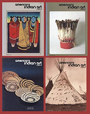 AMERICAN INDIAN ART MAGAZINE : COMPLETE 1979 Spring, Summer, Autumn & Winter ISSUES: (Vol 4, No 2...