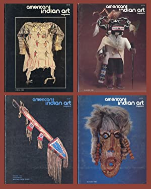 AMERICAN INDIAN ART MAGAZINE : COMPLETE 1980 Spring, Summer, Autumn & Winter ISSUES: (Vol 5, No 2...
