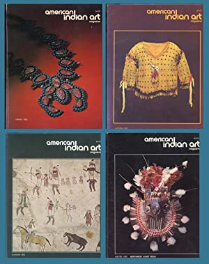 AMERICAN INDIAN ART MAGAZINE : COMPLETE 1982 Spring, Summer, Autumn & Winter ISSUES: (Vol 7, No 2...