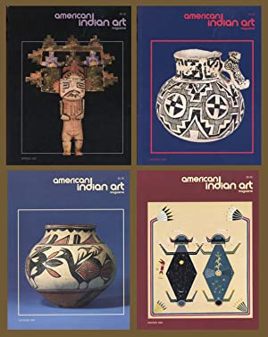 AMERICAN INDIAN ART MAGAZINE : COMPLETE 1991 Spring, Summer, Autumn & Winter ISSUES: (Vol 16, No ...