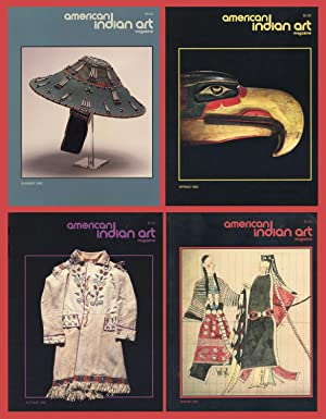 AMERICAN INDIAN ART MAGAZINE : COMPLETE 1992 Spring, Summer, Autumn & Winter ISSUES: (Vol 17, No ...