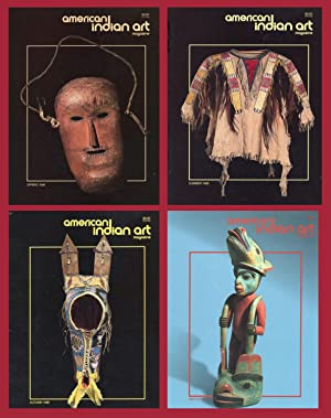 AMERICAN INDIAN ART MAGAZINE : 1996 Spring, Summer, Autumn & Winter Issues : (Vol 21, No 2, 3, & ...