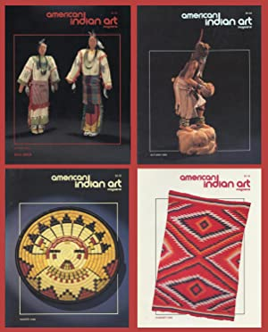 AMERICAN INDIAN ART : 1989 Spring, Summer, Autumn & Spring (Vol 15, No 2, 3, 4; Vol 16, No 1): ...