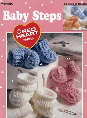 BABY STEPS : RED HEART YARNS : Kirksey, Valesha Marshall
