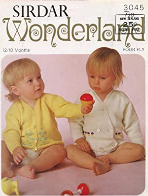SIRDAR : WONDERLAND : Two Cardigans, 12/18: Sirdar Editorial Staff
