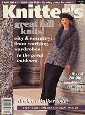 KNITTER'S MAGAZINE : GREAT FALL KNITS, Fall 1998, Number 52 (Volume 15, No 3)