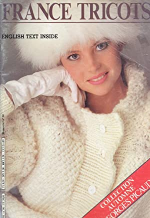 GEORGES PICAUD : FRANCE TRICOT, English Text : Autumn Issue, No 90