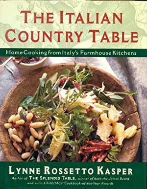 THE ITALIAN COUNTRY TABLE : Home Cooking from Italy's Farmhouse Kitchens