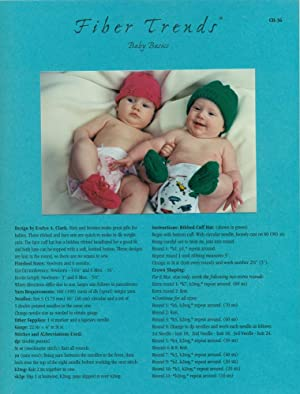 FIBER TRENDS : BABY BASICS : Pattern CH-36: Clark, Evelyn A.