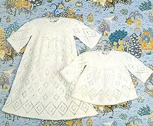 EMU TREASURE RANGE OF BABY LEAFLETS : Long & Short Baby Dress : Leaflet 8637: Emu Editorial ...