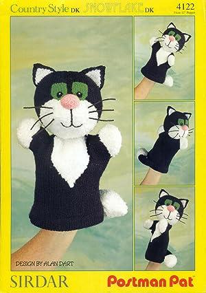 SIRDAR : POSTMAN PAT : Jess Glove Puppet, Pattern #4122: Dart, Alan