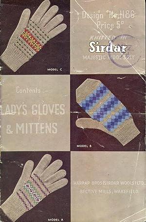 SIRDAR MAJESTIC WOOLSPLY : LADY'S GLOVES &: Sirdar Editorial Staff