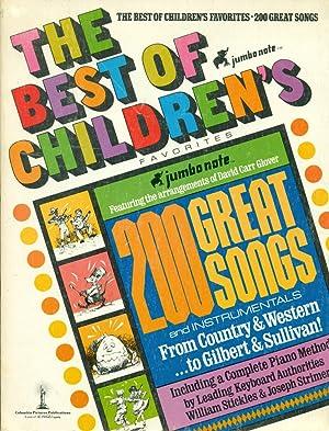 THE BEST OF CHILDRENS FAVORITES : 200: Glover, David Carr;