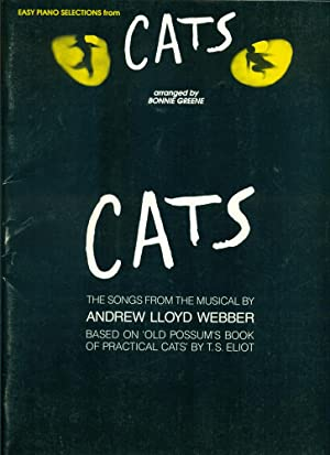 CATS: EASY PIANO SELECTIONS: Songs from the Musical By Andrew Lloyd Webber