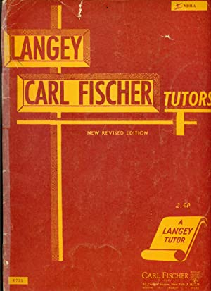 LANGEY - CARL FISCHER: FOR VIOLA (New Revised Edition): Langey, Otto: Carl Fischer Editorial Staff