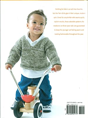 THE YARN GIRLS' GUIDE TO KID KNITS: Patterns for Babies and Toddlers: Carles, Julie; Jacobs, ...