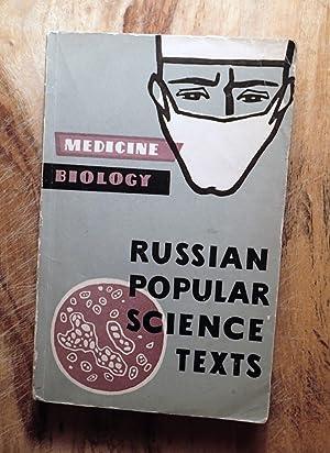 RUSSIAN POPULAR SCIENCE TEXTS: Biology, Medicine: Grigorenko, R.V. (Compiler)