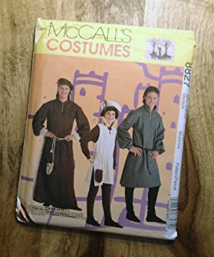 McCALL'S SEWING PATTERN: #8827: McCALL'S COSTUMES: Men's & Boys' Medieval Wear: Size: Men's Mediu...