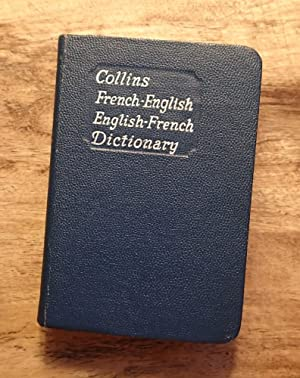 COLLINS FRENCH GEM DICTIONARY: French-English: English-French: Rudler, Gustav; Anderson,