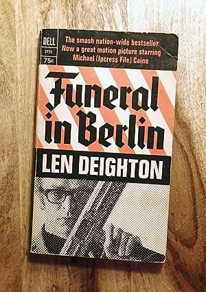 FUNERAL IN BERLIN (Dell, 2773): Deighton, Len